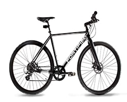 Fortified Theft-Resistant Hybrid Bicycle
