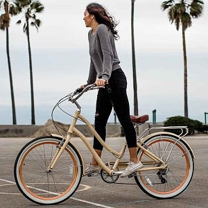 Hybrid Bicycle Designed for Women