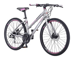Schwinn Phocus Flat Bar Hybrid Bicycle